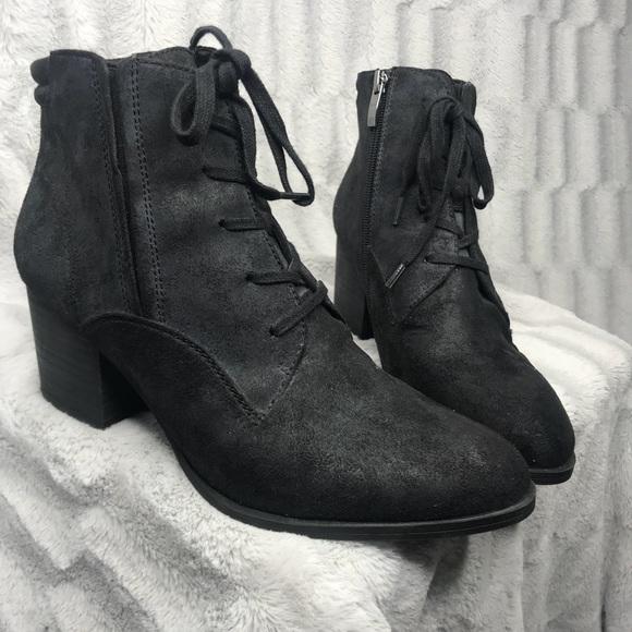 c00e2f3460de0 Franco Sarto Shoes   Marissa Lace Up Heeled Ankle Boots   Poshmark